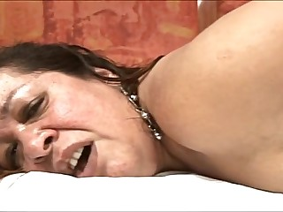 Brazilian fat mature in anal..