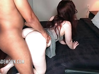 Redhead with fat ass loves..