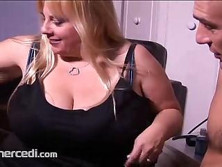 BBW Cassie Blanca Takes A..