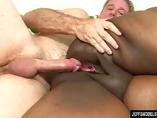 Fat Black Chick Heather..