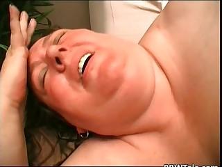 Old fat slut with big jiggly..